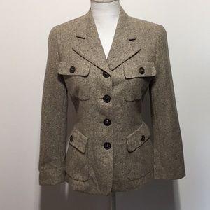 Escada Wool/Cashmere Blazer